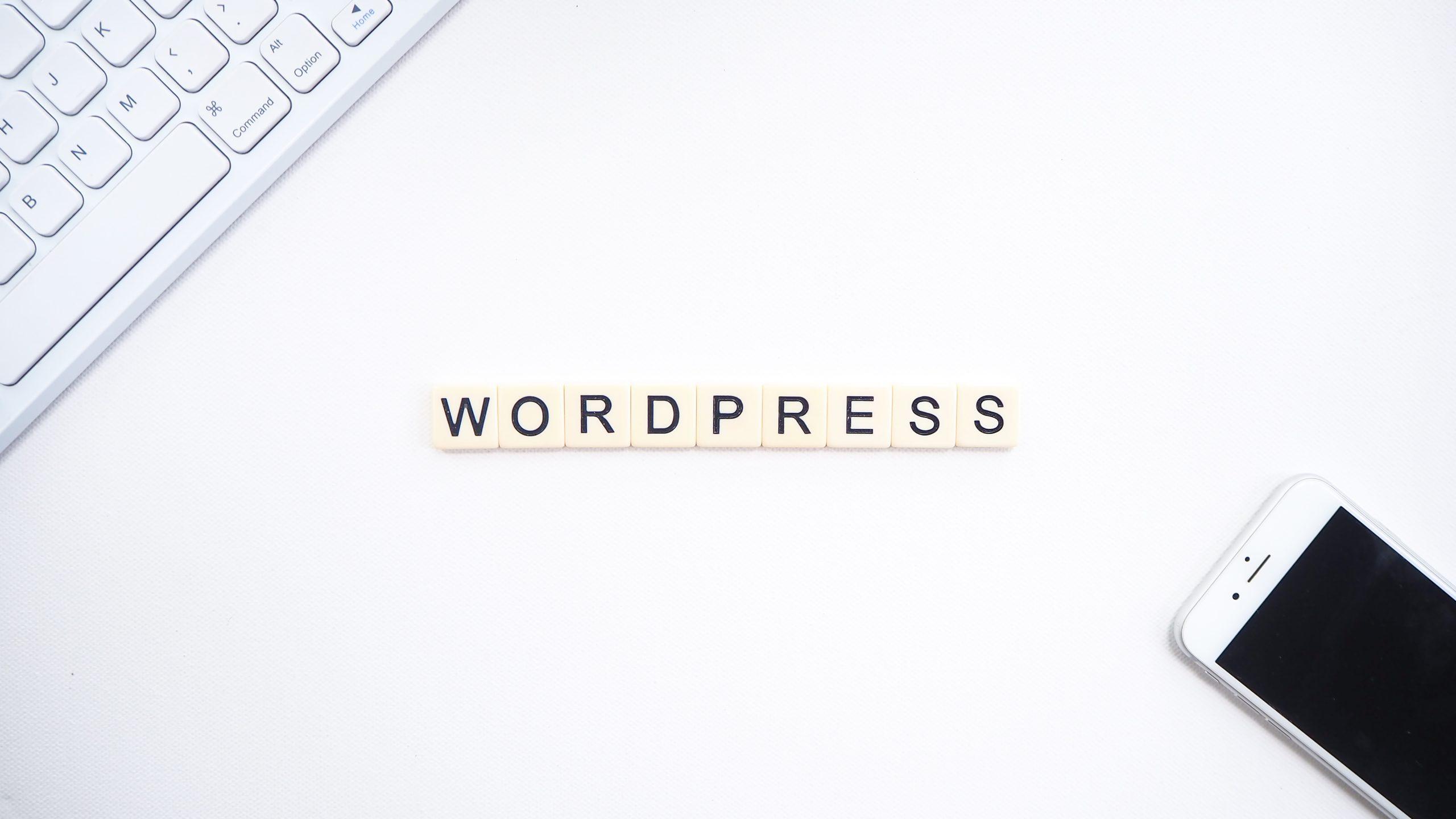 wordpressの作成画像
